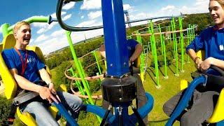Sky Rider Onride Extrem (FULL HD) - Skyline Park