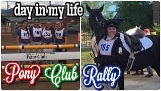 Day In My Life At Pony Club Rally   Pony Club Horse Show VLOG