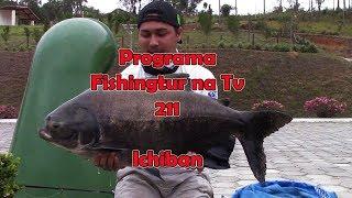 Programa Fishingtur na Tv 211 - Pescaria no Pesqueiro Ichiban