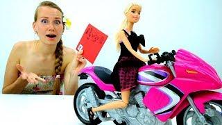 Письмо Кену от #КуклаБарби 💌 Как сделать конверт #СвоимиРуками 🙌 Мастерская #Барби для девочек
