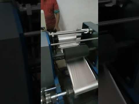 Semi-Automatic Aluminium Foil Rewinding Machine