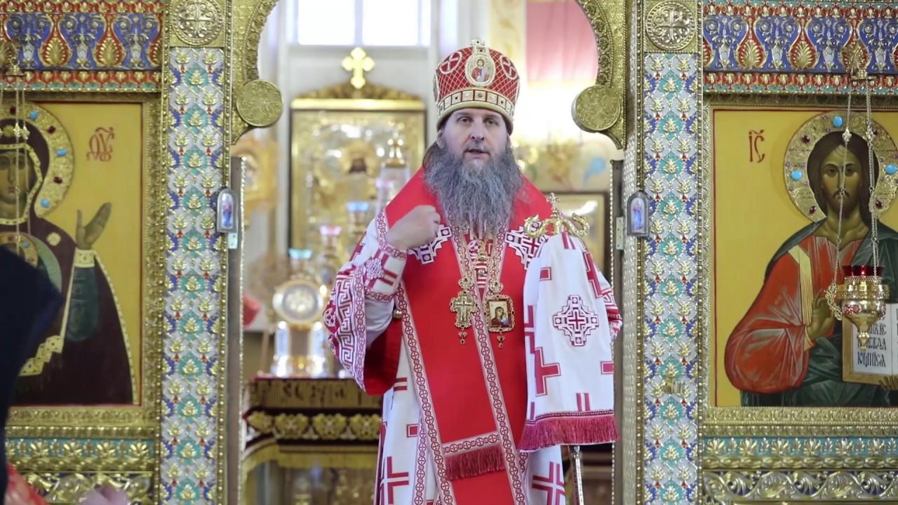Литургия в Неделю Жен-мироносиц. Проповедь митрополита Даниила