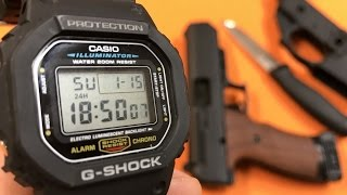 Casio G-Shock DW-5600E Review: VALUE, RUGGEDNESS, CLASSIC!