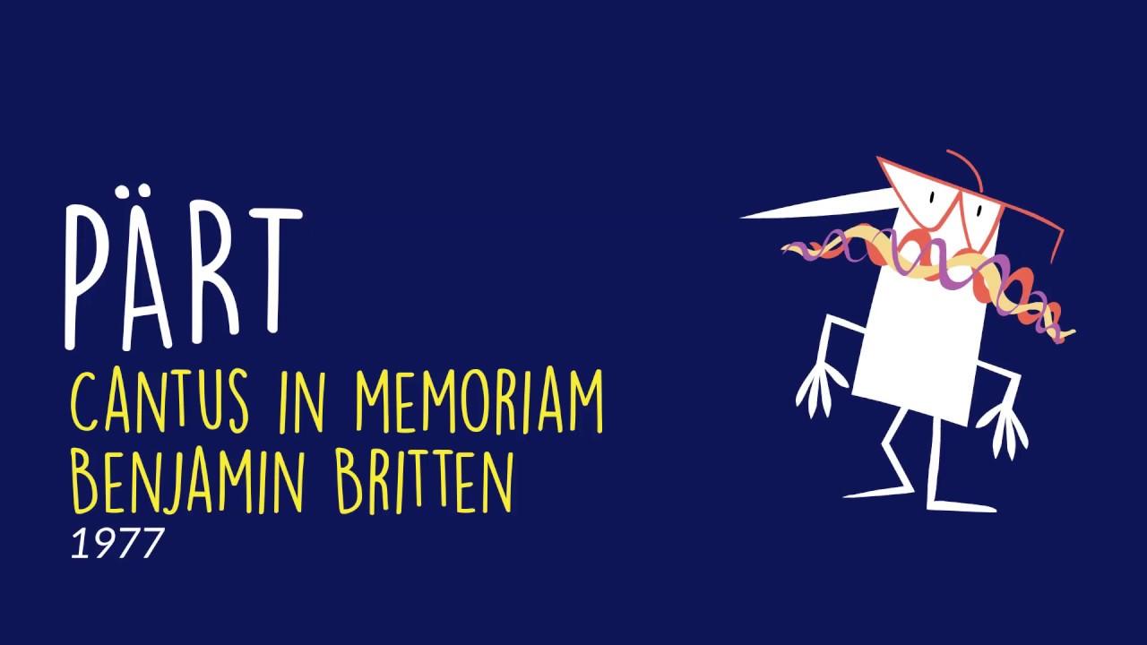 Cantus in memoriam Benjamin Britten