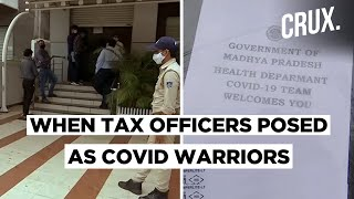 Posing As COVID Warriors, Income Tax Officers In Bhopal Raid 22 Premises  IMAGES, GIF, ANIMATED GIF, WALLPAPER, STICKER FOR WHATSAPP & FACEBOOK