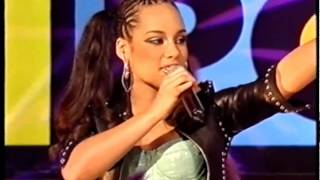 Alicia Keys - Girlfriend - TOTP 2002