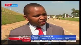 KTN Prime: SGR will pass through the park says Uhuru, 19/10/2016