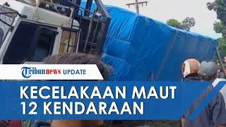 Kecelakaan Beruntun di Simalungun Melibatkan 12 Kendaraan, 5 Orang Tewas