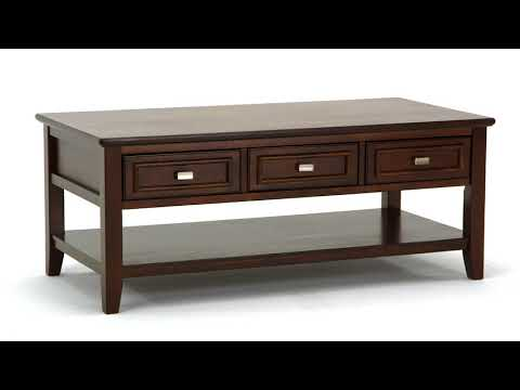 Larimer T654-0 Rectangular Cocktail Table