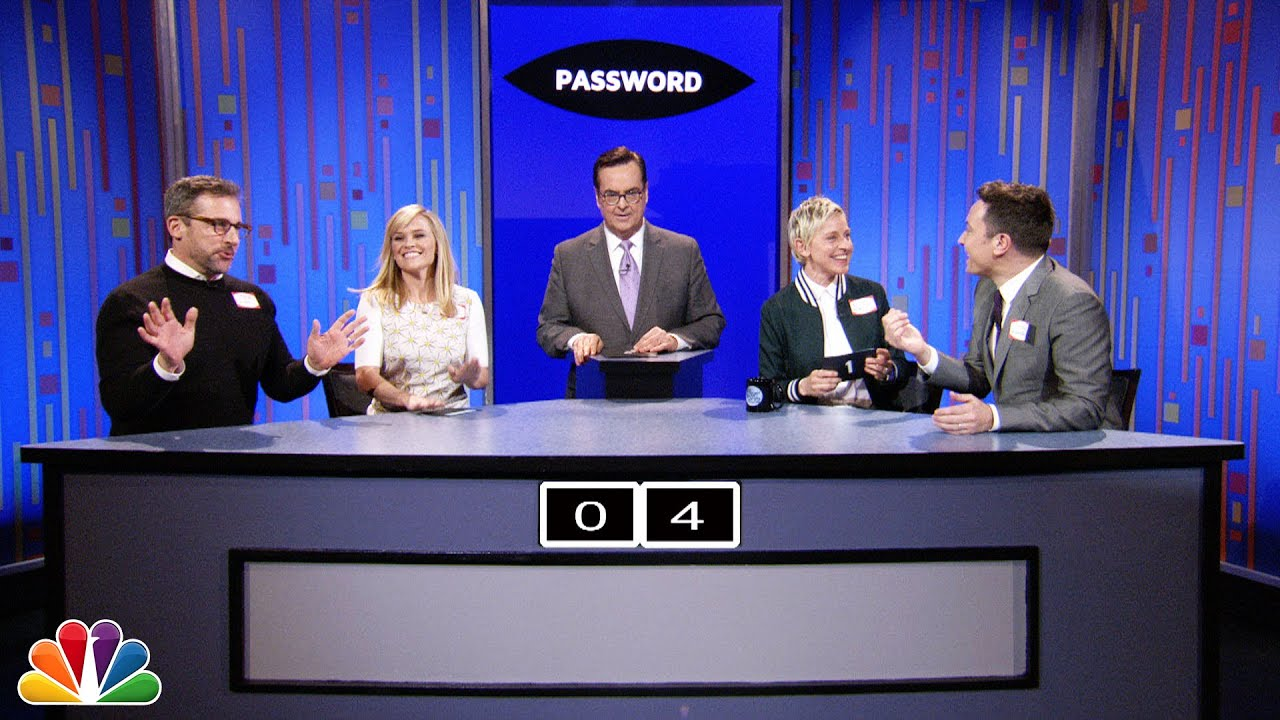 Password with Ellen DeGeneres, Steve Carell and Reese Witherspoon thumbnail