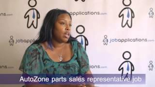 AutoZone Interview - Parts Sales Representative