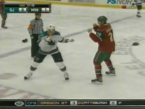 Jody Shelley vs Derek Boogaard