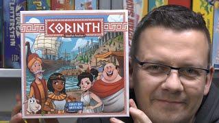 Corinth (Days of Wonder) - ab 8 Jahre - Roll 'n' Write Spiel