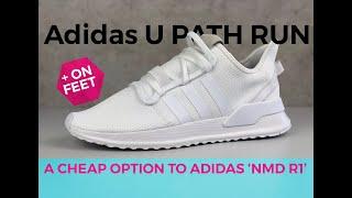 Adidas U_PATH RUN 'triple White'   UNBOXING & ON FEET   Fashion Shoes   2020   4K