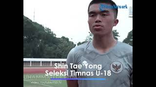 Kabar Timnas U-18 Indonesia, Shin Tae yong Patok Standar Tinggi, Dua Pemain Keturunan Menghadap