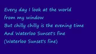 Def Leppard - Waterloo Sunset lyrics