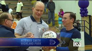 Carrollton Newman Smith vs Highland Park - 2019 Basketball Highlights