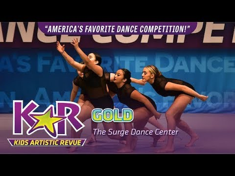 """""""Gold"""" from The Surge Dance Center"""