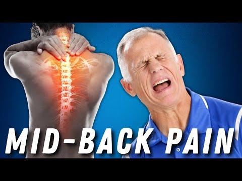 Rückenschmerzen im oberen Teil zwischen dem Rücken und Schultern