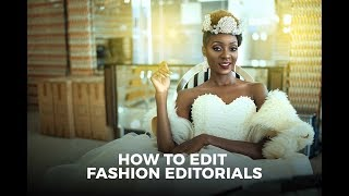 Photoshop CC Tutorial: How To Edit Fashion Editorials