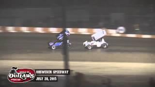 Sprint_Cars - Ohsweken2015 Highlights
