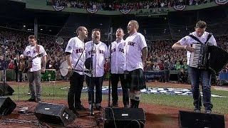 Dropkick Murphys perform national anthem