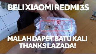 Beli Xiaomi Redmi 3S Di Lazada Indonesia Malah Dapet Batu Kali
