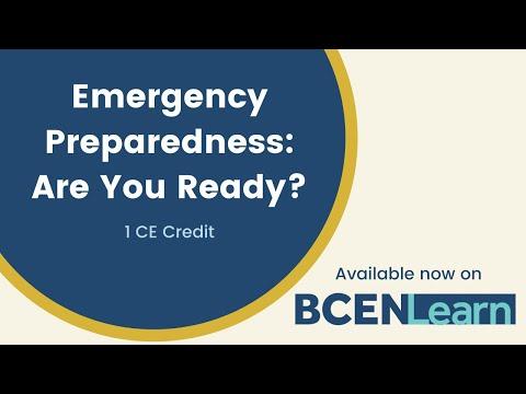 Emergency Preparedness: Are you Ready - YouTube