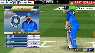Real Cricket 2018 Update Bating Gameplay