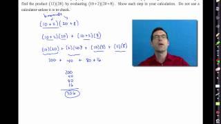 Common Core Algebra I.Unit #1.Lesson #4.The Distributive Property