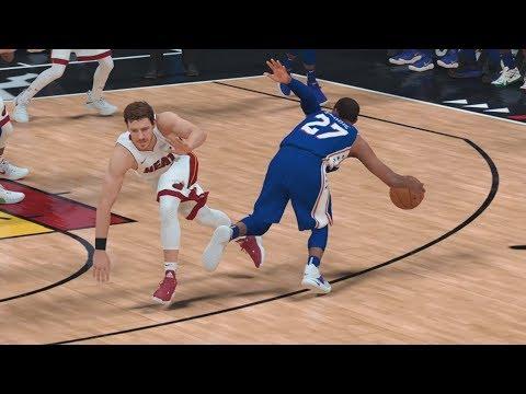 NBA 2K19 My Career EP 70 - Ankle Breaker Lob! QFG3
