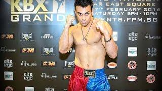 Hesamoddin Abdi Evolve MMA KBX Grand MuayThai Fight