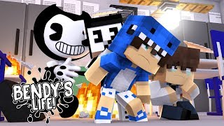 Minecraft BENDY'S LIFE (EP.16) - BENDY & ALICE ANGEL'S BABY IS A BULLY & BEATS UP KIDS AT SCHOOL!!