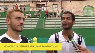 Ramkumar Ramanathan e Goncalo Oliveira – Guzzini Challenger 2019 – DAY 7