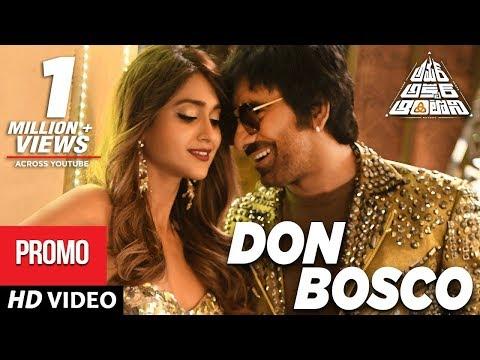 Don Bosco Video Song Promo | Amar Akbar Antony Telugu Movie | Ravi Teja, Ileana D'Cruz