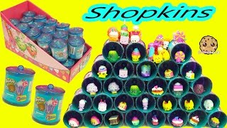 Shopkins Exclusive Season 1, 2, 3 Colors Food Fair Candy Jar Surprise Blind Bags  Full Box