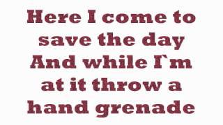 Hand Grenade-Hedley