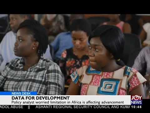 Data For Development - News Desk on JoyNews (4-4-18)