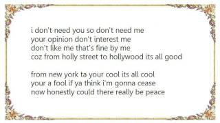 Dizzee Rascal - Respect Me Lyrics
