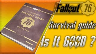 Fallout 76 vault dwellers survival guide unboxing and brief overview the fallout 76 guide