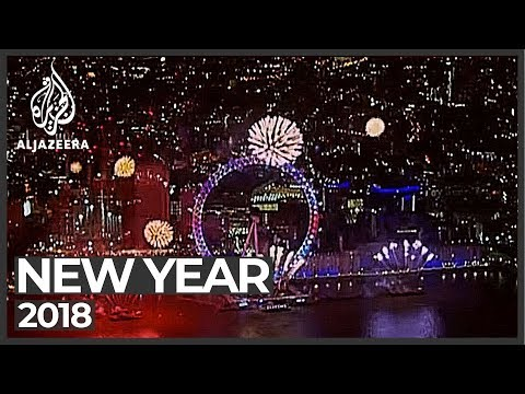 Happy New Year! Cities across the world welcome 2018