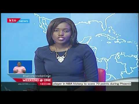 KTN Weekend at One  Full Bulletin with Akisa Wandera 26/3/2017