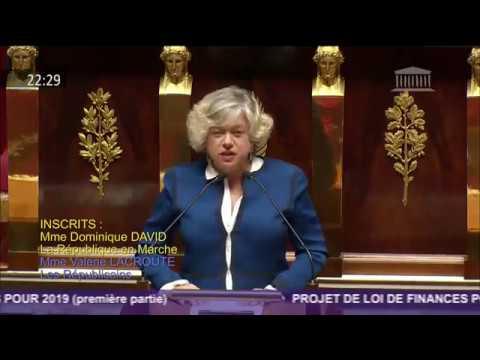 Intervention en séance publique pour le Projet de loi de Finances 2019