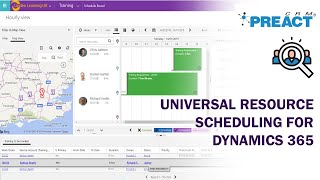 Demonstrating Universal Resource Scheduling for Dynamics 365