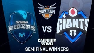MOVISTAR RIDERS vs VODAFONE GIANTS | Superliga Orange CoD | SEMIFINAL DE WINNERS