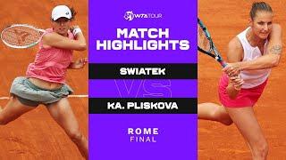 Film do artykułu: WTA Rzym. Iga Świątek...