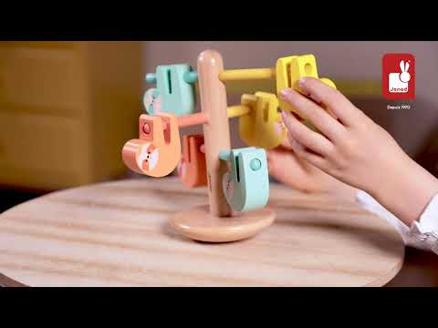 Youtube Video for Balancing Sloths - Wooden Game