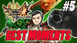BEST MOMENTS IN Monster Hunter 4 Ultimate-#5 CHARGE!!