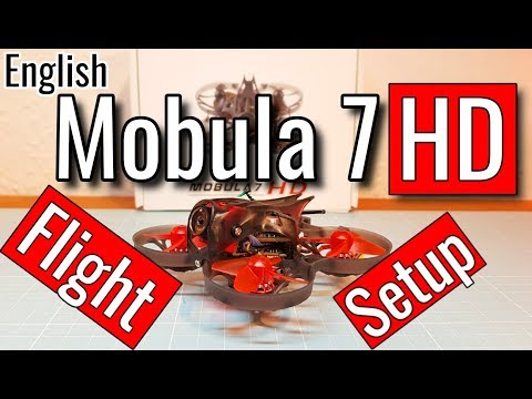 Mobula7 HD - Setup - First Flight