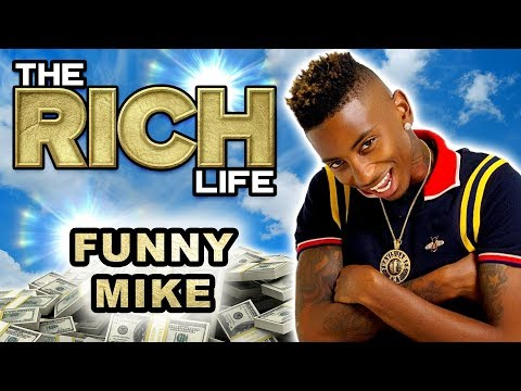 Funny Mike | The Rich Life | A Look Inside His 'Mini-Mansion'